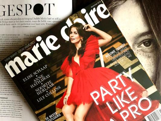 Marie Claire publicatie Freckles